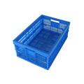 supermercado cesta de plástico de volumen de negocios de apilamiento de plástico cajas de mano