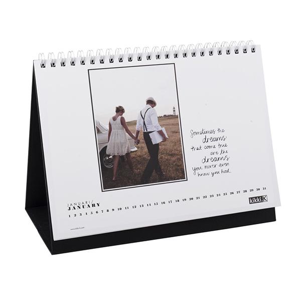 Spiral Desk Table Design Calendar 2015 View Calendar 2015