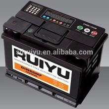 car battery DIN72 12V72AH bateria de carro por atacado