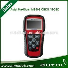 MaxiScan MS509 OBD2 OBDII eobd Scanner Code Reader MS 509 Car Diagnostic Tool DHL FREE BUY Best