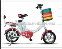 Low motor power electric bike