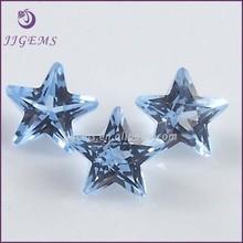 loose blue semi precious stone/ synthetic nano spinel blue star