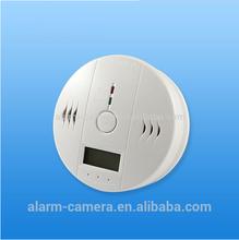 WIFI Carbon Monoxide Detector with LCD display , APP control CO Gas Detector via internet push information, wifi smoke detector