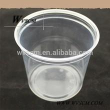 özelleştirilmiş ölçüm plastik çay bardak ve tabaklar toplu