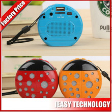 new design Beetle shape mini bluetooth wireless speake usb 2.1 portable bluetooth speaker with 400mah battery 3w