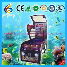 Quality top sell mini hoop basketball game machine