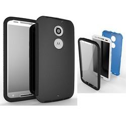 For Motorola Moto X Hybrid Combo TPU+PC+Touch Screen Phone Case