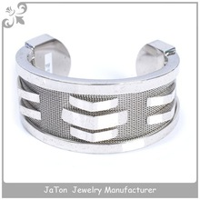 Heavy Stainless Steel Men Bangle Bracelet Jewelry