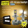 Best seller 70W 6400LM 6000K led h4 motorcycle headlight, h4 led headlight for motorcycle Car Truck