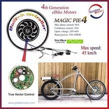 24V/36V/48V 250-1000W golden motor magic pie electric bicycle conversion kit,E bike conversion kit