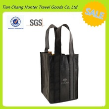 Strong and Durable High Quality 4 or Multiple bottles Non Woven Wine Bag