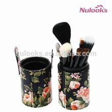 Nulooks Chinese style best handmade go pro vegan makeup brushes 12pcs