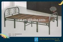round tube metal folding bed
