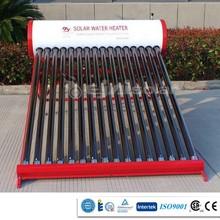 2014 Borosilicate glass tube pressurized solar water heater/180L solar water heater/water tank