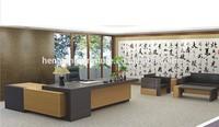 2014 New Design Luxury Metal Modern Wooden Office Furniture & Executive desk HX-NT3102