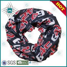 Customized dye sublimated printing polyester bandana
