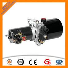 12v dc motore stazione di pompaggio idraulico per autocarro con cassone ribaltabile