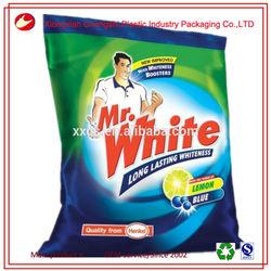Flexible packaging plastic laundry detergent powder bag