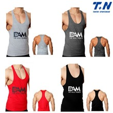 Hot Selling Cheap Y Back Tank Tops For Men