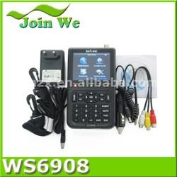 Satlink ws 6908Digital TV Satellite Finder Sat Finder ws6908 Hot selling!