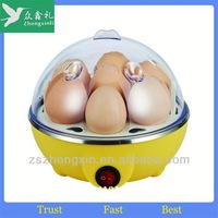 Poached Egg Cooker As Seen On TV 2014 Electric Automatic 7 Hole Egg Cooker Boiler ZD-001