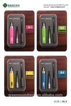 high end e-cigarette vaporizer brands e cigarette dual heating e cigarette filter gs-h2s GS ego II mega kit