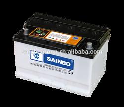 12V60Ah car battery/starting battery/automotive battery