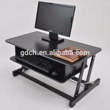 Mobile laptop computer desk adjustable height mobile laptop computer desk