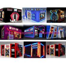 Design hot selling 5d cinema hydraulic platform