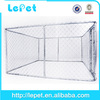 outdoor chain link rolling strong stainless steel dog kennel