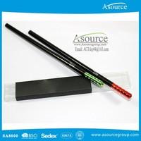 Customized Colorful Tip Metal Cap Pencil