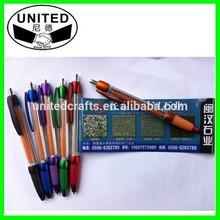 Retractable Cheap Flyer Pen Banner Pen for Promotion