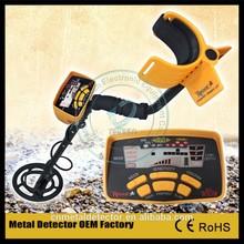 MD6250 professional metal detector Gold Detector Treasure hunter Metal Detector Factory
