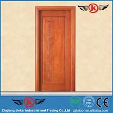 JK-M214 Jie Kai luxury cherry solid wood door / wooden outward open door / China export wood outward opening door