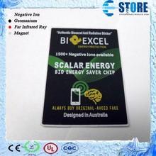 Bio Energy Saver Chip BioExcel Bio Energy Anti Radiation Negative Ion Chip