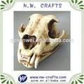 cabeza de animal del cráneo de las artes de la resina y la artesanía