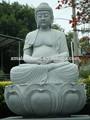 granito estatua de buda