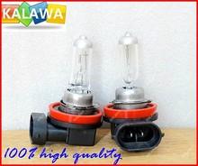 100% NEW H11 12V 55W clear halogen lamp fog lights external lights quartz glass ^GG06