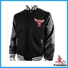 chicago customize logo baseball jacket,bulls jacket
