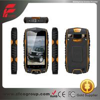 Original MTK6572 Dual Core Android 4.2 IP68 GPS rugged waterproof cell phone 3G dustproof shockproof smartphone ip68