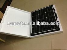 Hot sales competitive price black foldable solar panel kit 100w