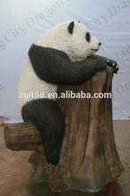 life size simulation mechanical panda