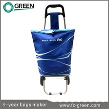 2015 Hot Selling Trolley Shopping Bag With Chair