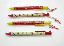 Full color printed school ball pen for Korea and Japan market