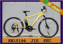 24v 250w motore senza spazzola del mozzo li-ion montagna mtb tipo e bici