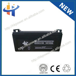 Made In China high voltage heavy duty dry battery rechargable 12v