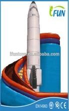 rocket sliding inflatables / children sliding inflatable / sliding inflatables on sale