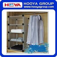 Creative Design DIY Household Plastic Bedroom Clothes Cabinet