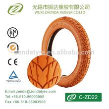 STANDARDIZED HIGH QUALITY COLOURED BIKE TYRE C-ZD22 12x1.75