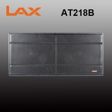 LAX Dual 18inch bass subwoofer speaker box bass speaker/1800W big stage sound system